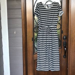 Old navy striped jumpsuit, size M